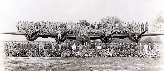 409th Squadron in England