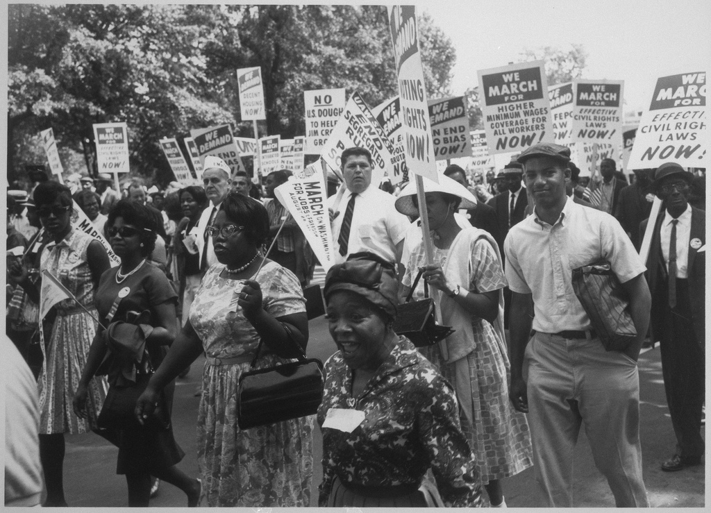 Photo of a Civil Rights March