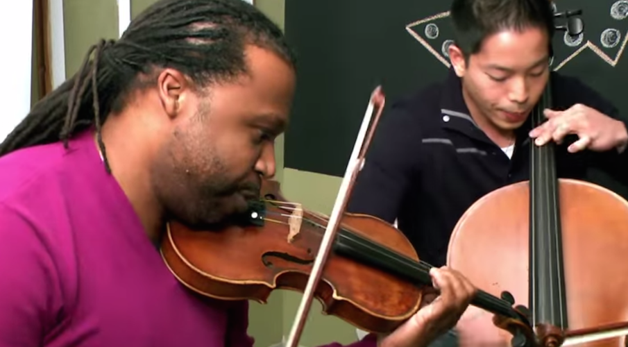 Infinitus brings beat-boxing and strings to WSKG
