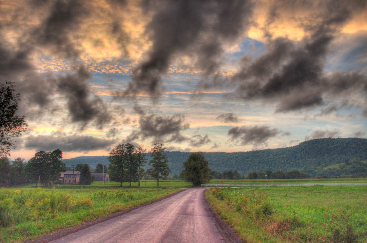 A landscape in Upstate NY