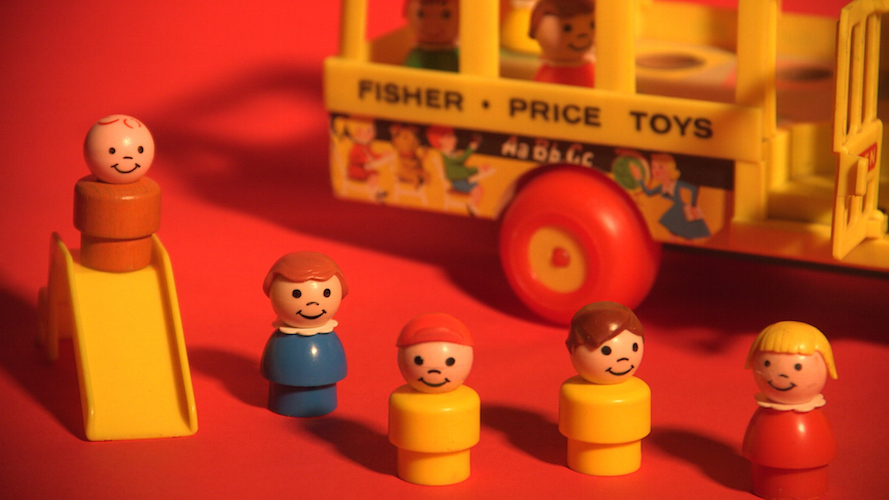 Fisher-Price toy manufacturing began in Binghamton, NY
