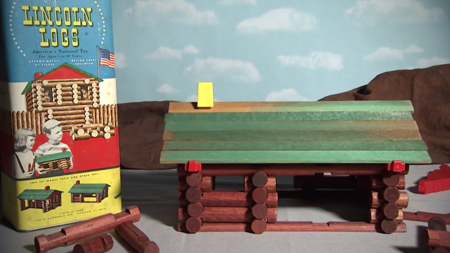 Lincoln Logs, a family favorite for decades