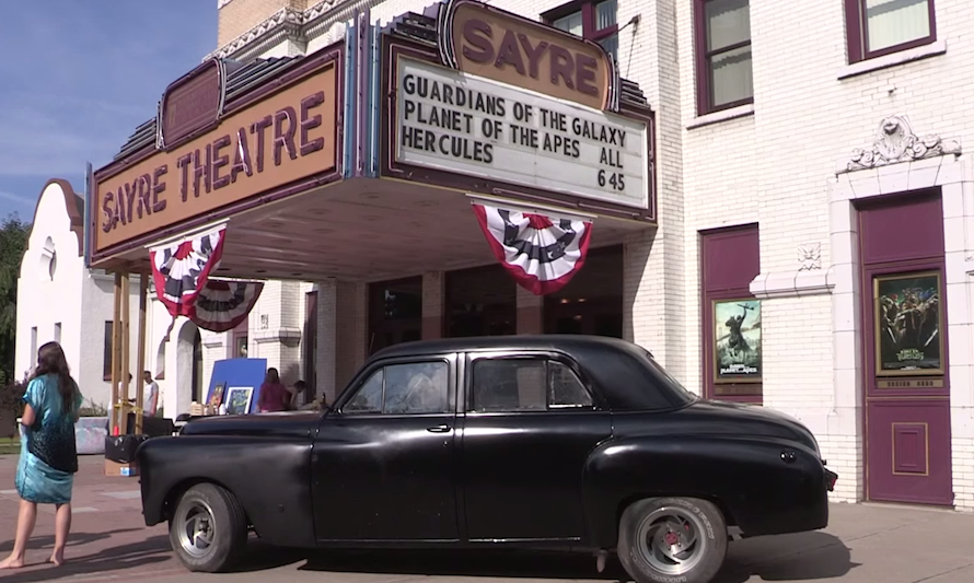 The Sayre Theater celebrated its 100th birthday in 2014