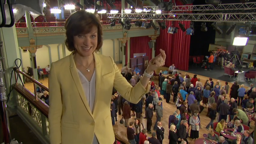 Fiona from British Antiques Roadshow
