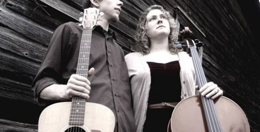 Folk musicians Nate and Kate