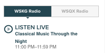 Listen Live on the new WSKG.org