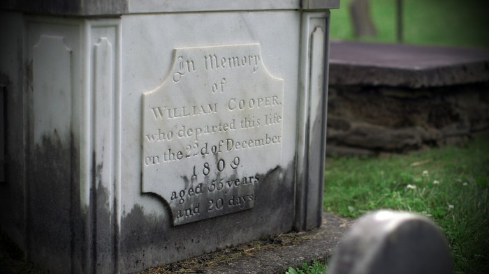 William Coopers Grave