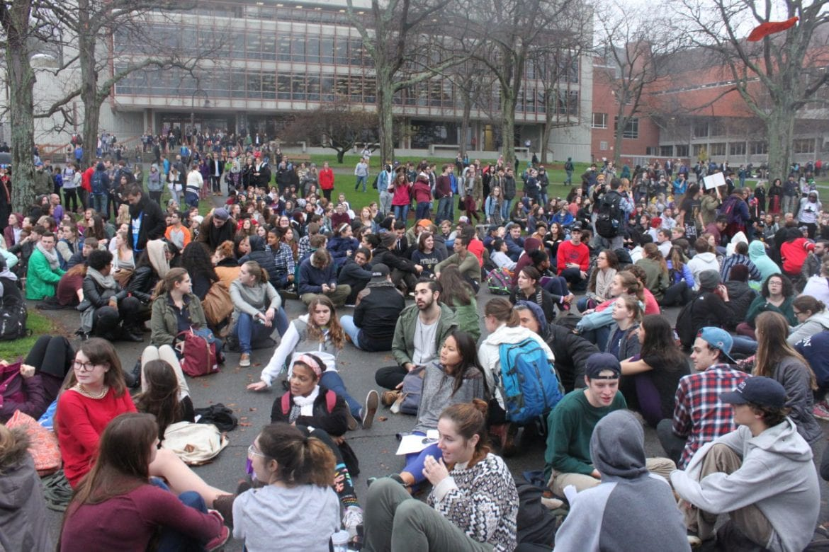 Protests Over Diversity Reach Ithaca College