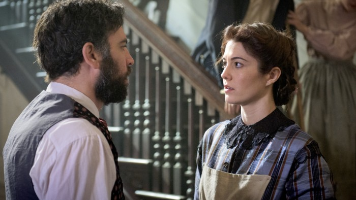 Dr. Jedediah Foster (Josh Radnor) and Nurse Mary Phinney (Mary Elizabeth Winstead).