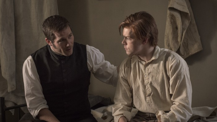 Henry Hopkins (Luke Mcfarlane) and Tom Fairfax(Cameron Monaghan)