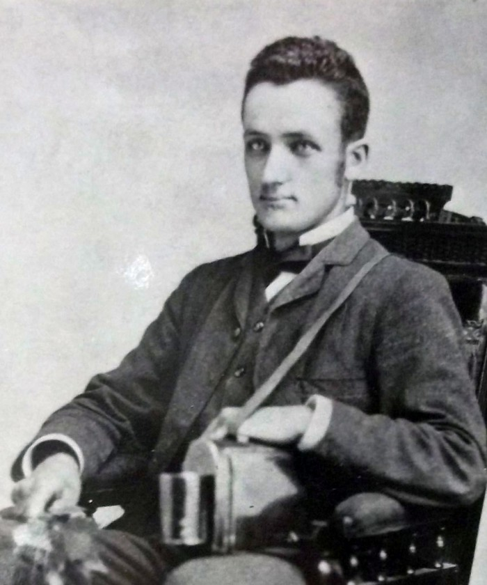 Bailey as a young man. Division of Rare and Manuscript Collections, Cornell University.