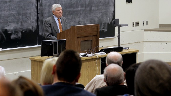 Dr. McPherson speaks at Binghamton