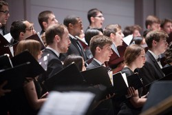 2015 Charter Day Weekend: The Cornell Chorus performs at My Cornell - A Celebration in Words and Music.