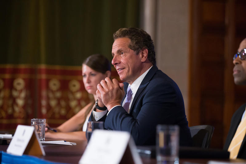Cuomo says threatening primaries is destructive to party