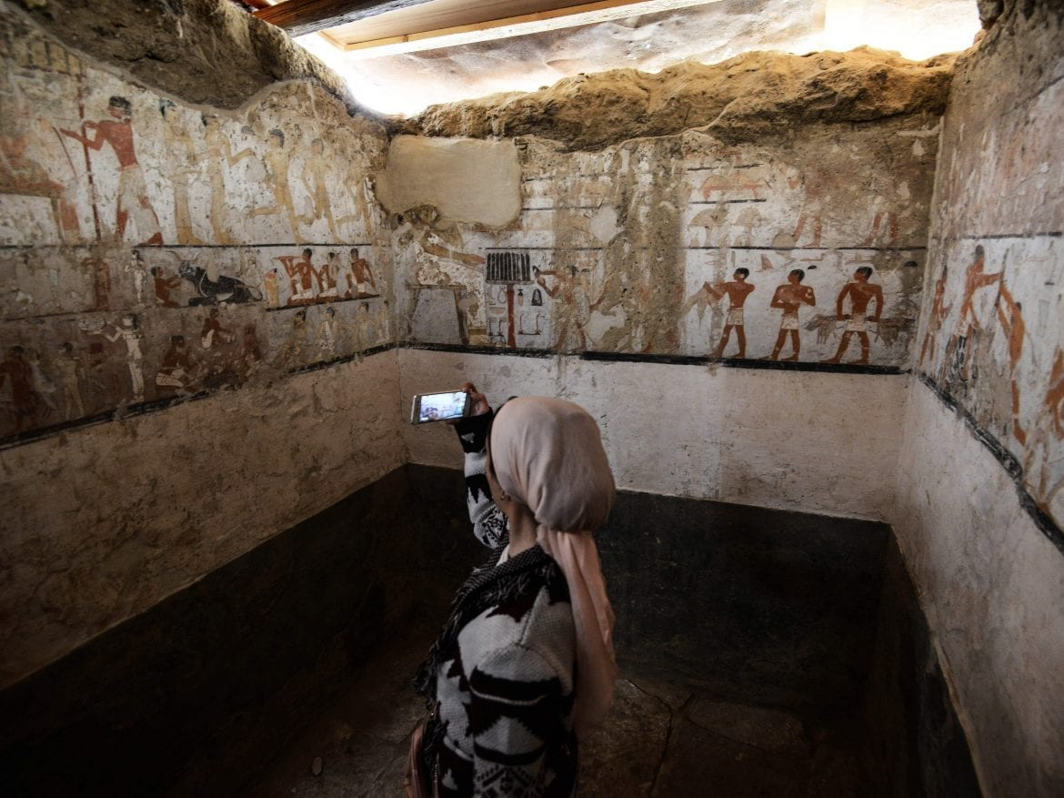 Archaeologists in Egypt discover 4400-year-old tomb
