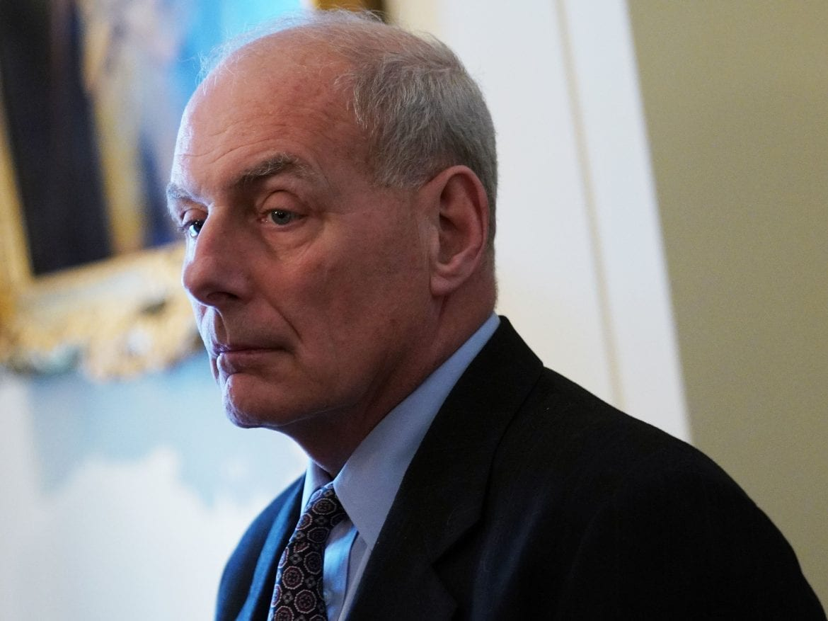 John Kelly: I have 'nothing to even consider resigning over'