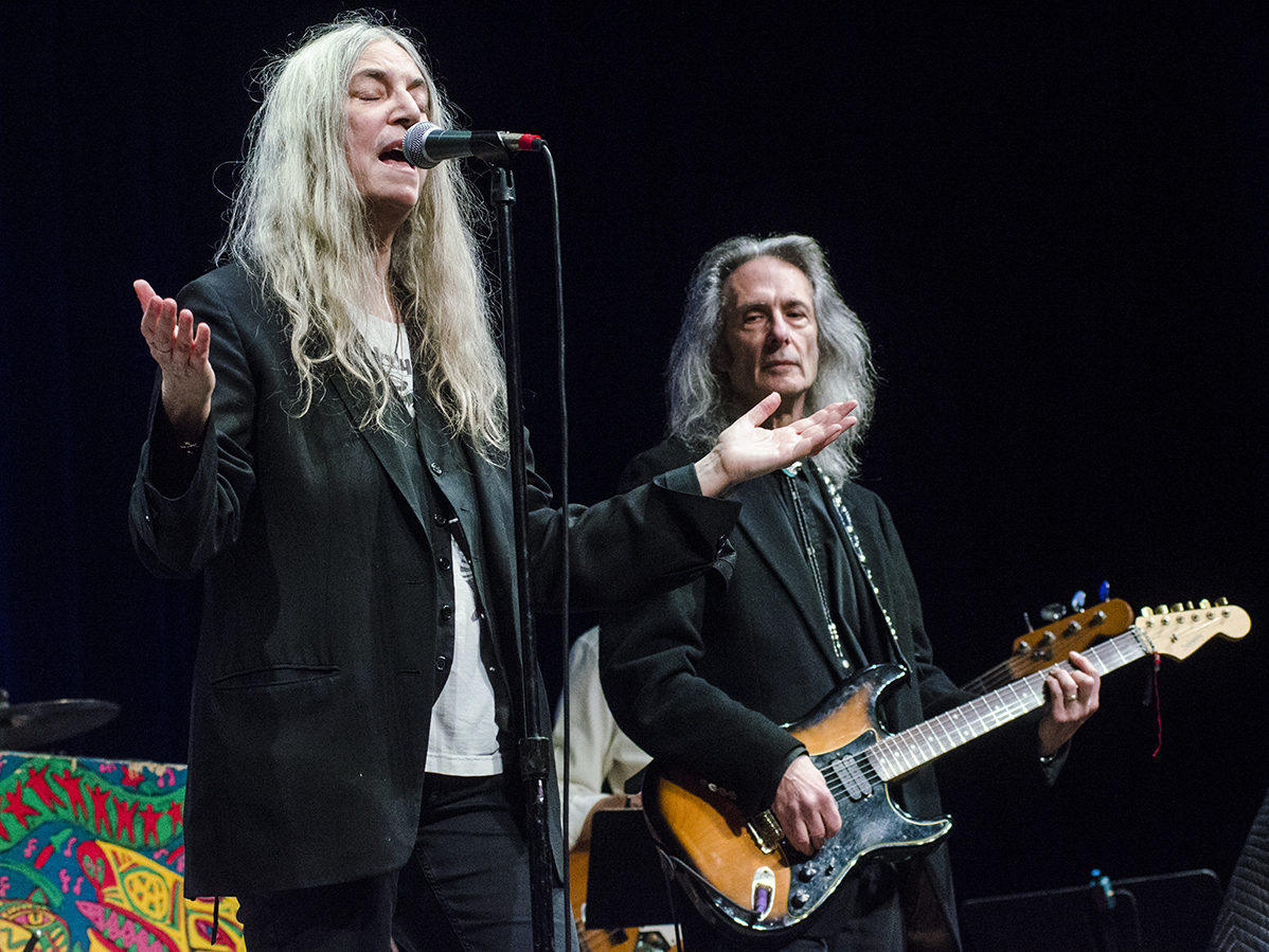 Listen to Patti Smith perform on Mountain Stage in the player above