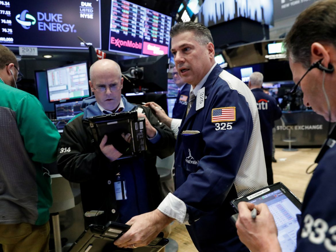 USA  stocks re-enter correction territory on Trump Chinese tariff plan