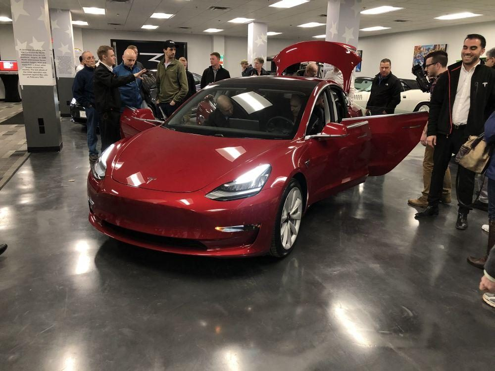 Tesla Brings New Model Upstate Pushes For Change In State Law WSKG - Rochester car show