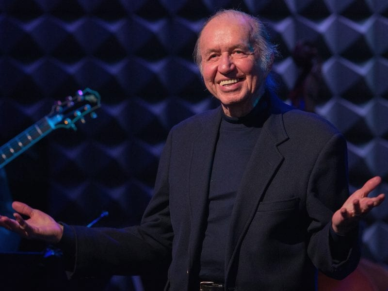 Bob Dorough performing at Joe's Pub in New York on March 9, 2014.
