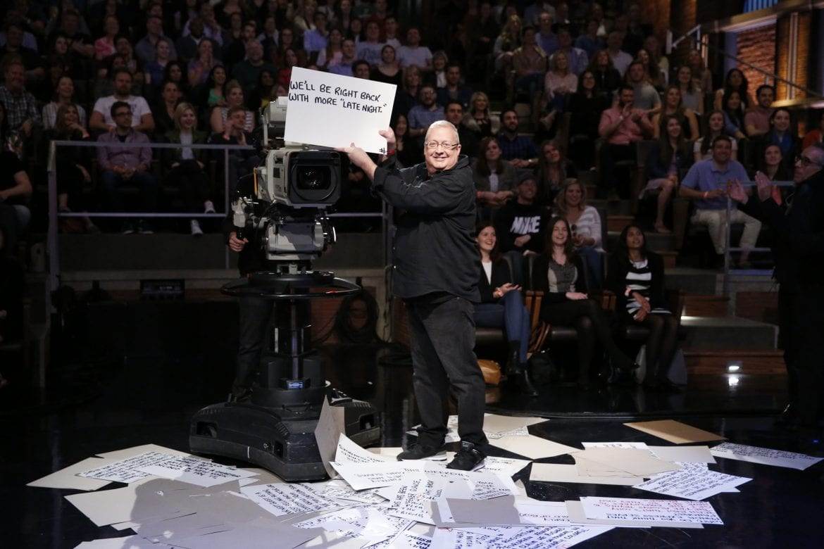 Wally Ferensten - Cue Card Supervisor for Saturday Night Live