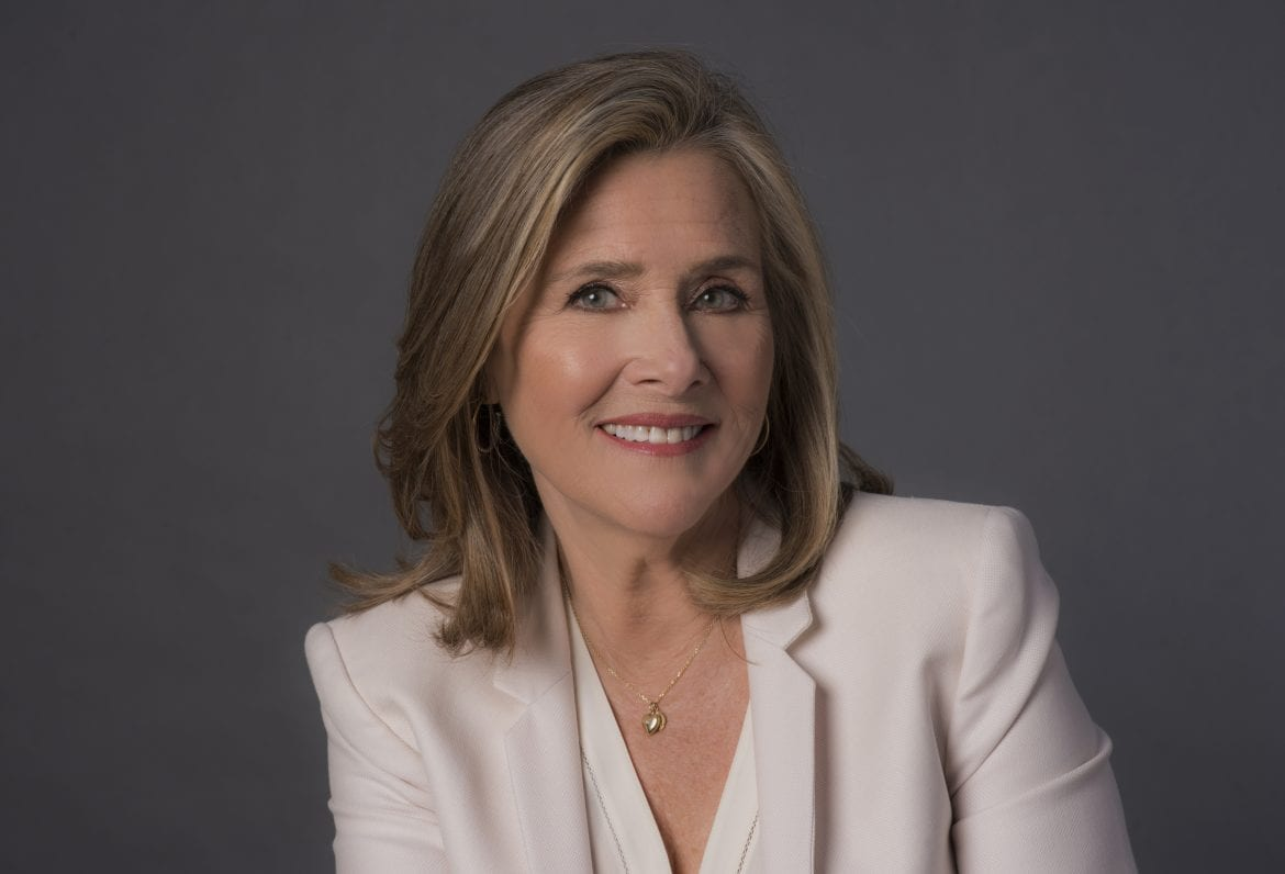 Photo of Meredith Vieira, host of PBS series, Great American Read