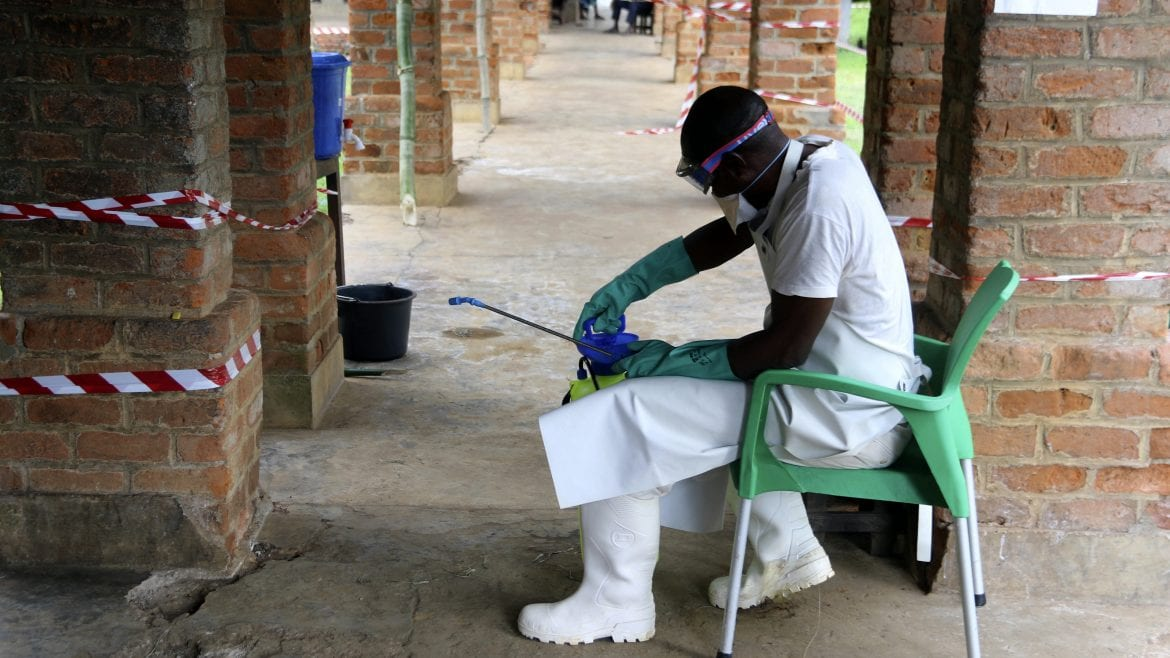 Ebola vaccine arrives in DR Congo amid outbreak
