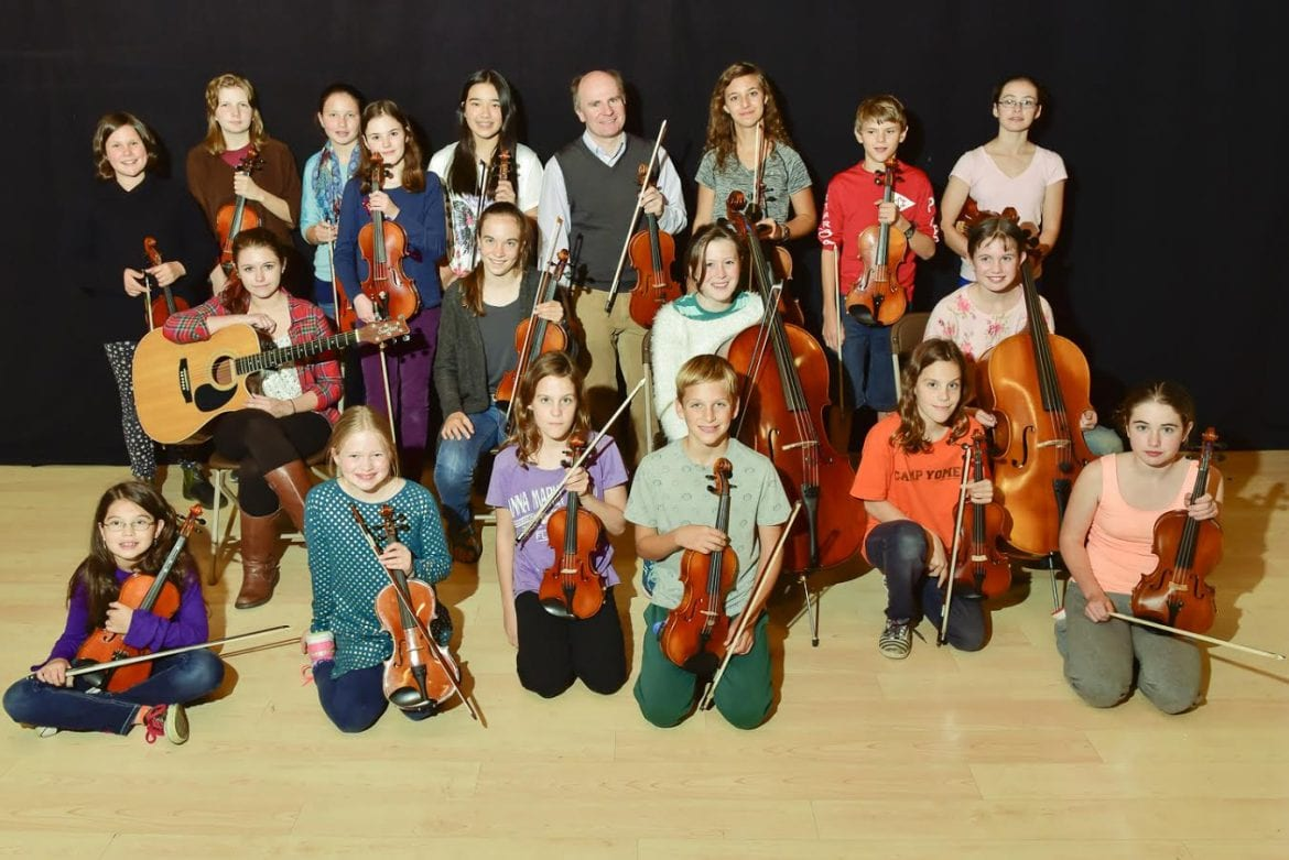young string players fill the foothills performing arts center with