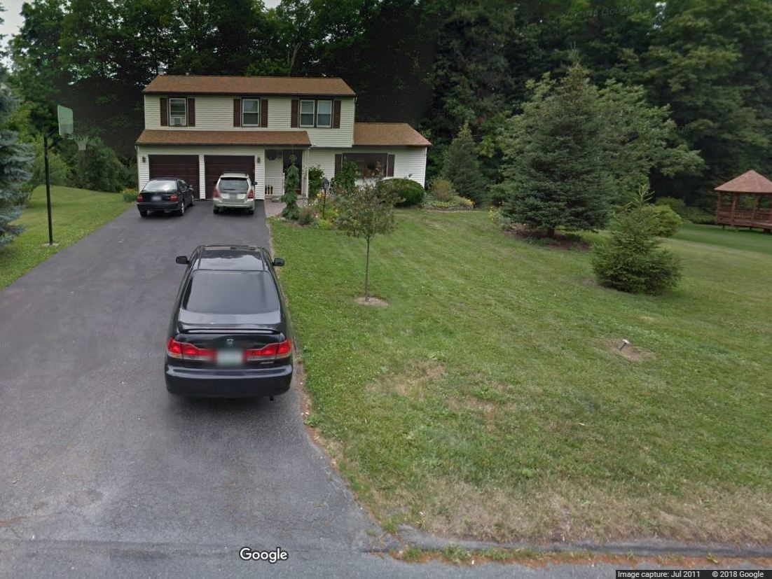 The Rotondos' house in Camillus, N.Y., where Michael Rotondo, 30, is being evicted at the request of his parents.