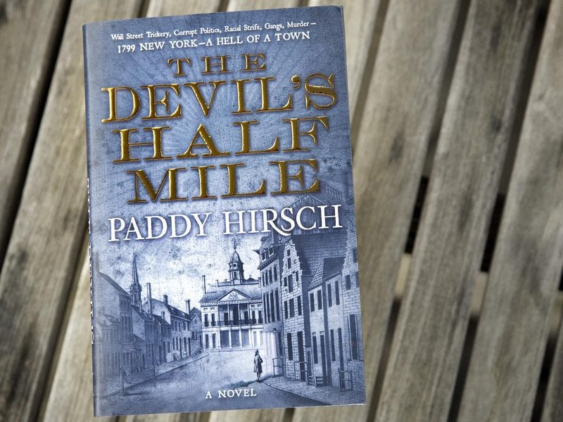 In Novel About 18th-Century Wall Street, Financial Journalist Turns From Fact To Fiction