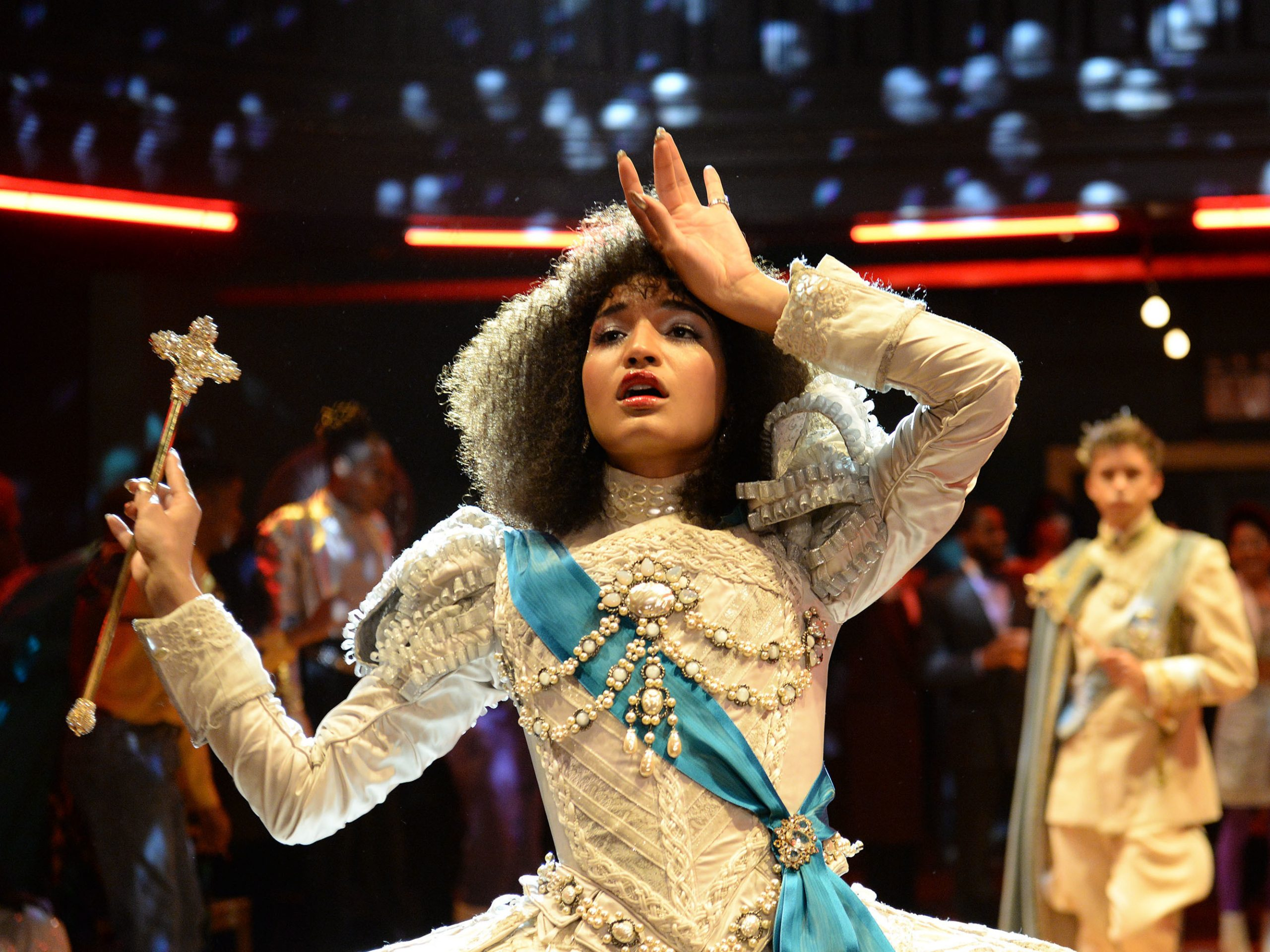 Indya Moore plays Angel in FX's Pose.