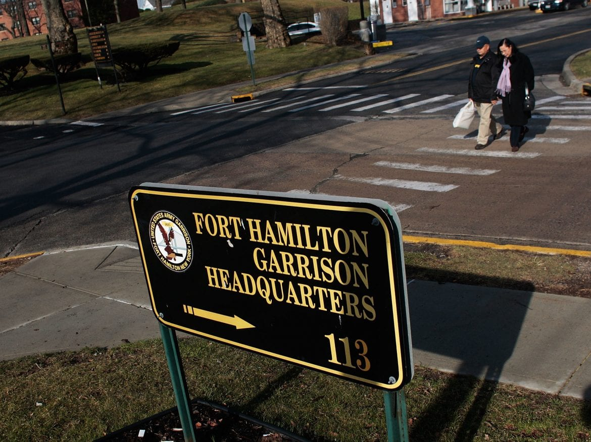 Fort Hamilton is one of the oldest military bases in the country and the only active U.S. military base in New York City.