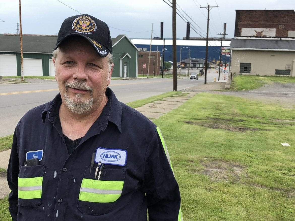 Dan Moore voted for President Trump and says he does not regret his vote even though his job may be in limbo because of the steel tariffs.