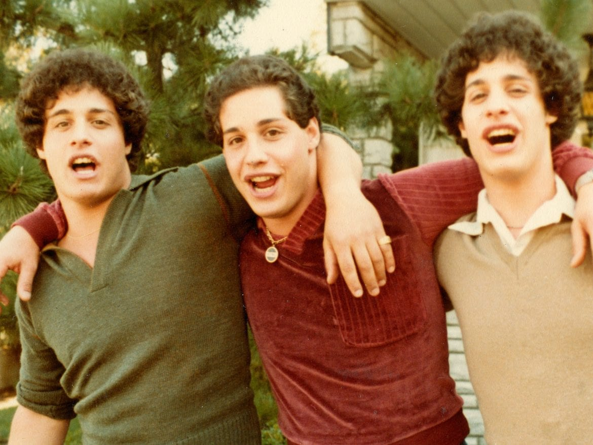 L to R: Eddy Galland, David Kellman and Bobby Shafran were identical triplets separated at birth; the documentary Three Identical Strangers explores their fascinating story. ... Stories.