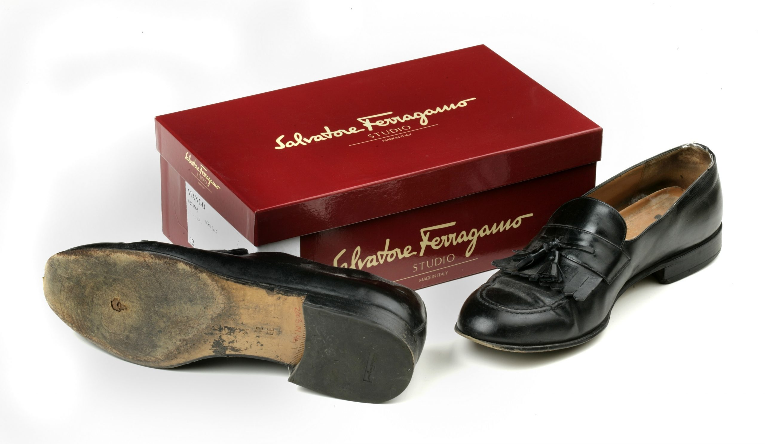 Attorney Paul Wysocki wore these Italian loafers as he escaped from the World Trade Center on Sept. 11, 2001.