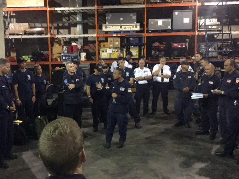 FDNY Members Deploy in Support of Hurricane Florence.