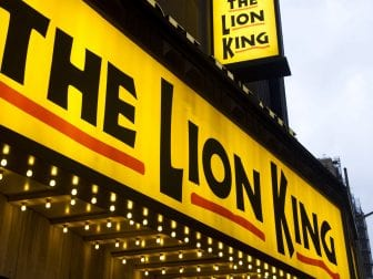 A puppet technician for the long-running musical The Lion King was arrested after police found him allegedly using a 3D printer to manufacture a gun at the theater.