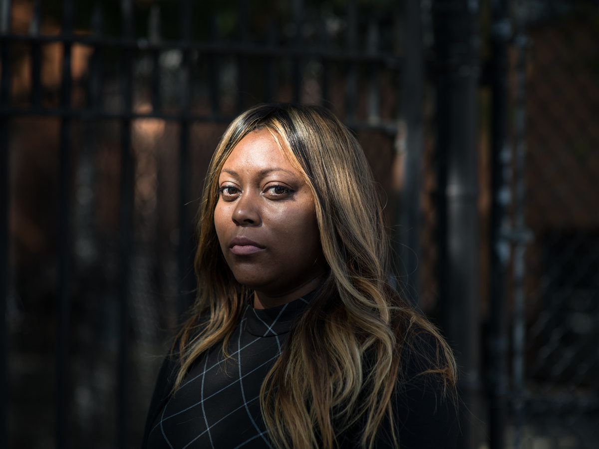 Audra Palacio was born in the Linden Houses, a public housing structure that houses thousands of families close to Brownsville. She now works for New York City Housing Authority, and is pursuing a master's degree.