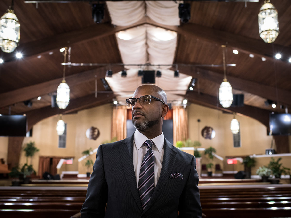 The Reverend David K. Brawley is one of the leaders of East Brooklyn Congregations, which put together the Nehemiah housing plan. They continue to build houses today.