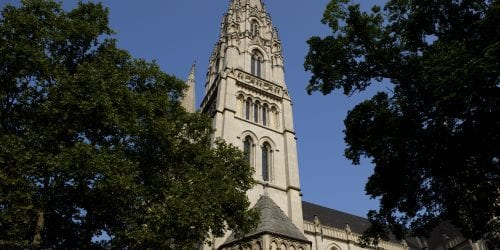 St. Paul Cathedral, the mother church of the Diocese of Pittsburgh. Pennsylvania was rocked by revelations of abuse by priests this August.