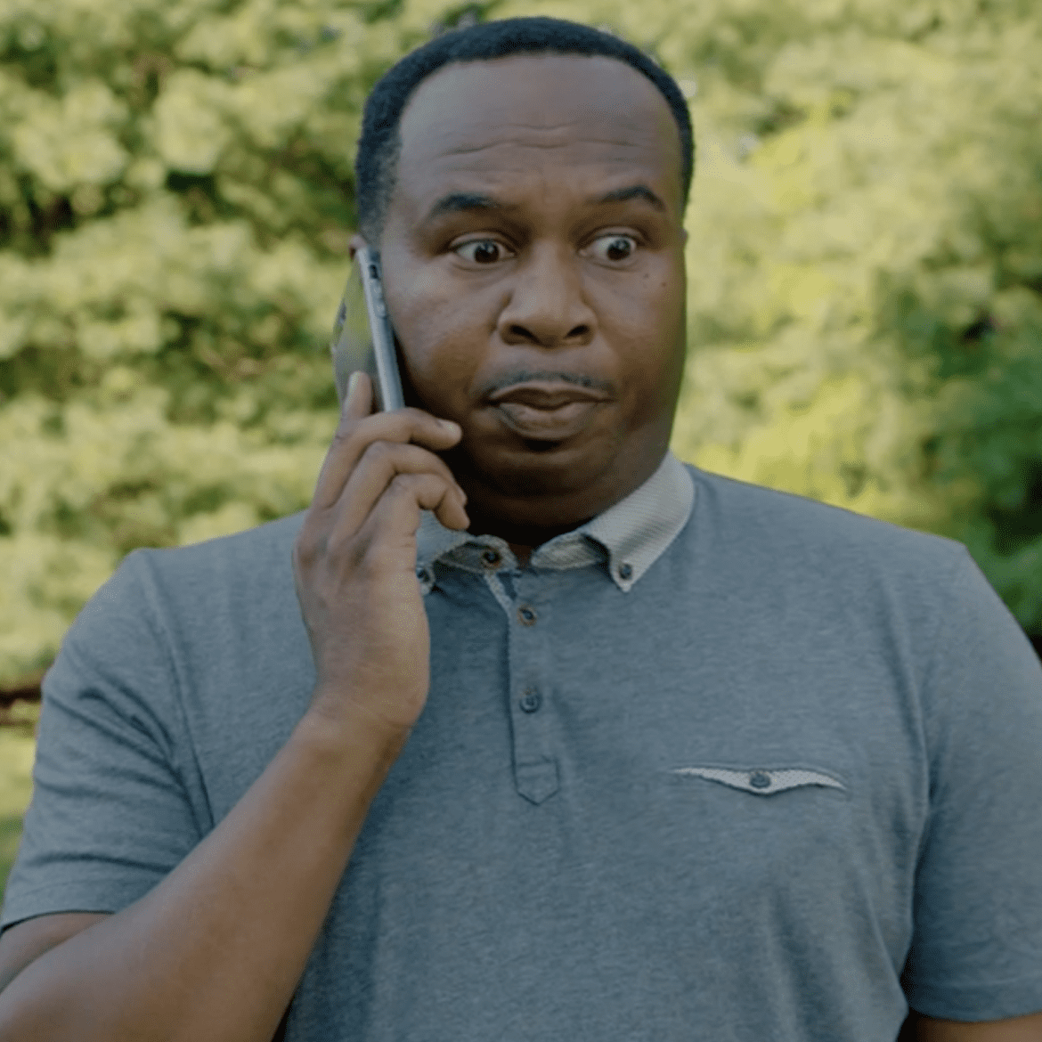 The Daily Show's Roy Wood Jr calls 911 to report a Selfie Emergency in a new voter video series.