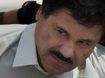 "Jury selection began Monday in the federal trial of Joaquín ""El Chapo"" Guzmán, shown here in 2014."
