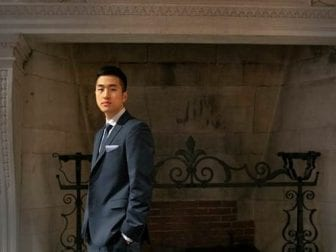 """""""I think it's important to really understand where you're coming from, understand who your peers are, who your community is,"""" DACA recipient and future Rhodes Scholar Jin Park says."""