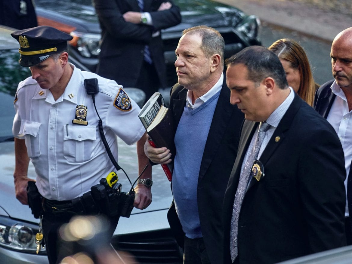 In May, Harvey Weinstein turned himself in to police following allegations by several women of sexual misconduct.
