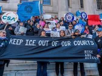 Judges Ask ICE to Make New York Courts Off Limits To