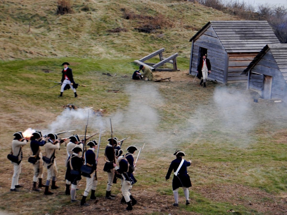 """According to newly discovered documents, a Pennsylvania officer led 30 of his men in a raid against the Massachusetts encampment, shouting """"Damn Yankees!"""" and firing shots into the tents and cabins of sleeping soldiers."""