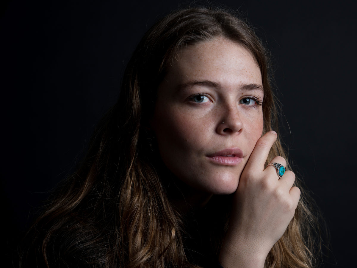 """""""I sort of became this cocktail party version of myself where I felt like I had to play the role of 'happy girl',"""" Maggie Rogers says."""