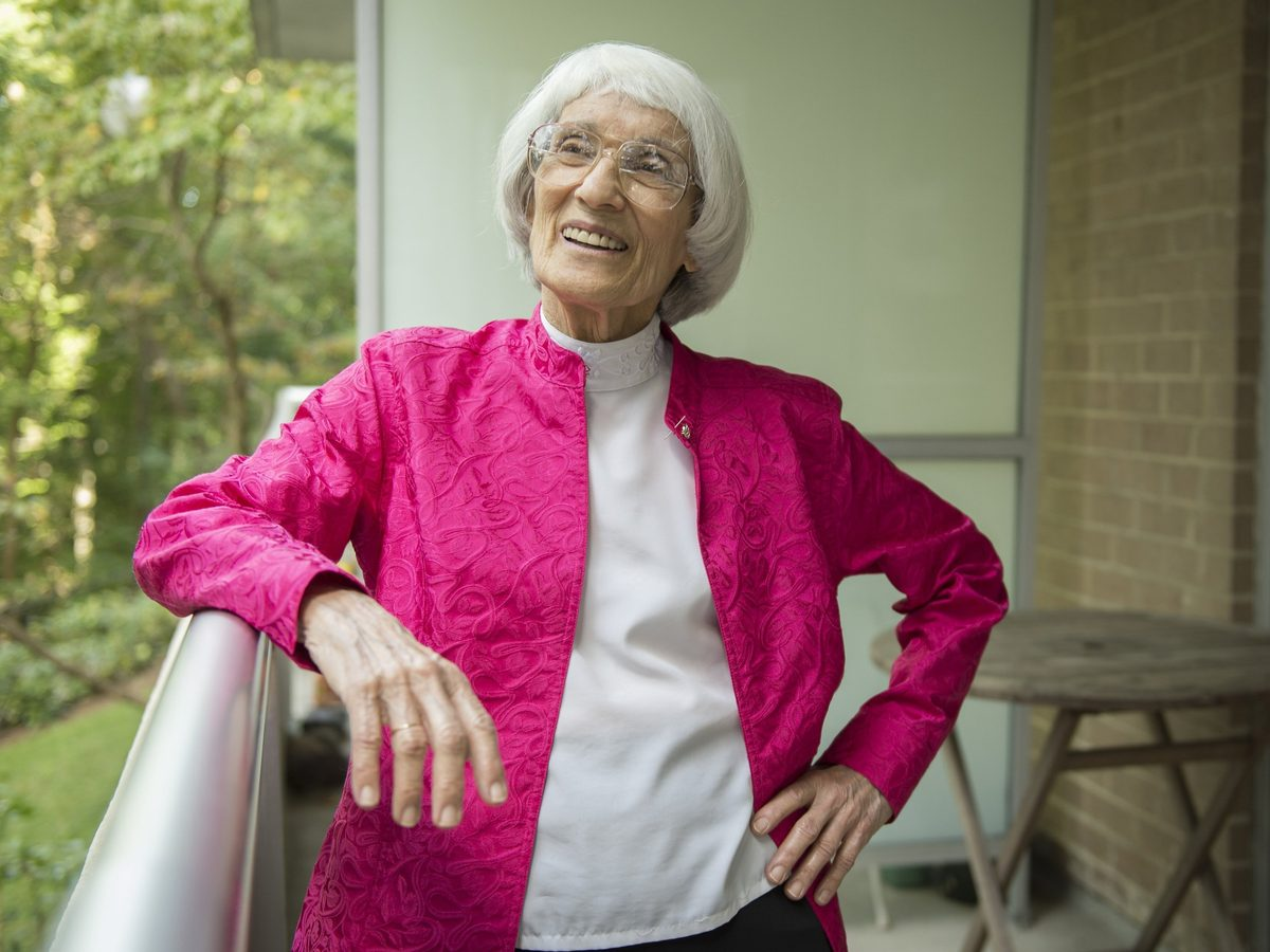 """Bernice """"Bunny"""" Sandler battled discrimination on the basis of sex, helping create Title IX legislation to give women and girls more opportunities in education and athletics."""