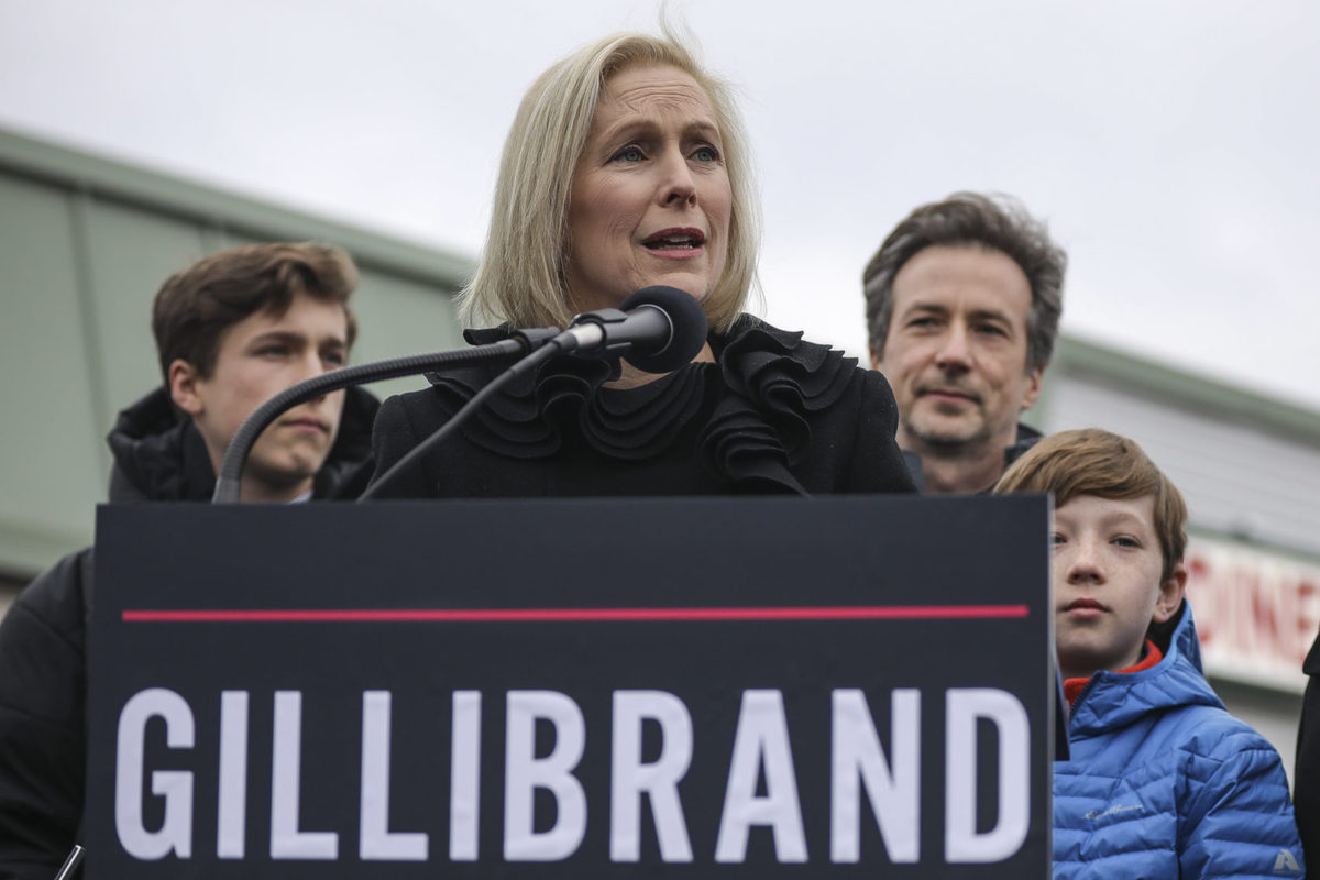 Democrat Kirsten Gillibrand: 'I Truly Believe I Can Bring This Country Together'