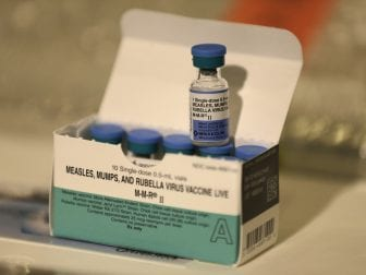 More than 285 cases of the measles have been reported in New York since October. Nearly all are associated with people who live in the Williamsburg or Borough Park neighborhoods of Brooklyn.